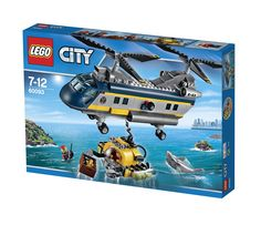 LEGO City 60093 Tiefsee-Helikopter