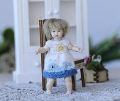 Hey, I found this really awesome Etsy listing at https://www.etsy.com/listing/514533346/heidi-ott-toddler-doll-25-inch-miniature