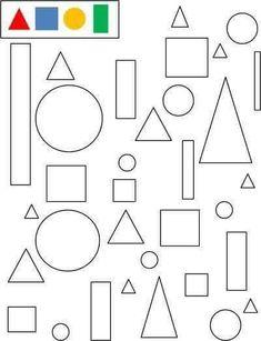 arbeitsbl tter und aktivit ten f r kinder ausdrucken geometrischen formen 28 vorschule. Black Bedroom Furniture Sets. Home Design Ideas