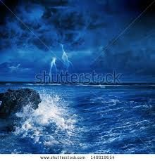 photos of waves at night - Google Search