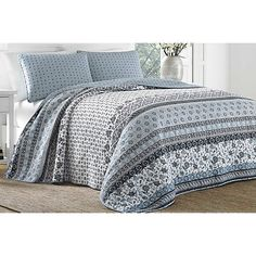 Beach Print Sleeper Sofas London Leather Sofa Tina House Pinterest Furniture And Bealls Around 80 00 The Stone Cottage Bexley Quilt Set Features An Eclectic Mix Of