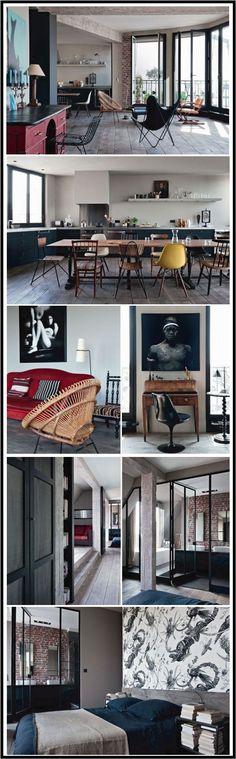 Antonio Virga Loft Paris