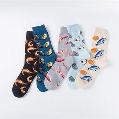 Underwear & Sleepwears Fouretaw 1 Pair Street Fashion Japanese Style Cotton Winter Autumn Unisex Personality Lover Tide Eyes Pattern Mens Long Socks Always Buy Good