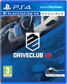 Sony PlayStation 4 VR DriveClub Video Game PSVR PS4
