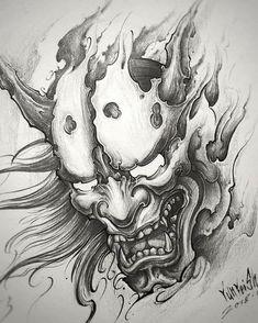 Pin adăugat de tattooli pe oni mask tattoo tattoos, tattoo d Oni Tattoo, Hanya Tattoo, Samurai Maske Tattoo, Hannya Maske Tattoo, Samurai Tattoo Sleeve, Tattoos Motive, Muster Tattoos, Japanese Demon Tattoo, Japanese Sleeve Tattoos