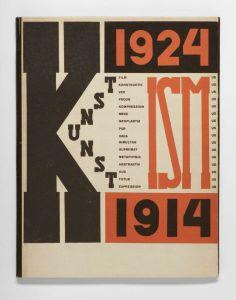 El Lissitzky Die Kunstismen