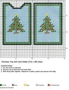 Christmas Tree Gift Pocket