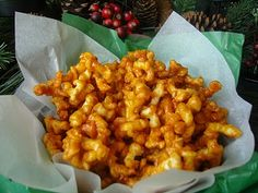 Caramel Popcorn Twists