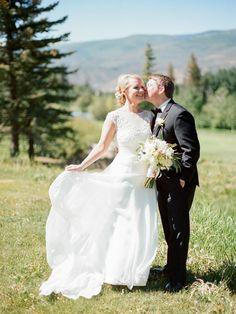 Colorado mountain wedding | Beaver Creek CO wedding | Rocky Mountain Bride