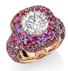 Diamond Mignonne Cerise Ring | Sotheby's Diamonds