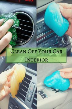 Clean Your Car With Slimy Cleaning Goo.