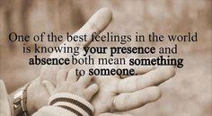 One of the best feelings