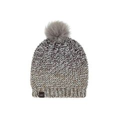0f072554737 Women s UGG Grand Meadow Novelty Beanie w  Fur Pom - Lodge Multi ( 65) ❤  liked on Polyvore featuring accessories