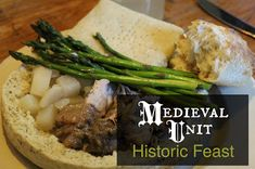 Medieval Unit: Historic Feast - Medieval-Unit-Historic-Feast-With-Recipes-and-book-titles - Medieval Party, Medieval Life, History Medieval, European History, Medieval Banquet, British History, Ancient History, Black History, Renaissance Food