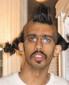 All the weird news: 13 weird hairstyles that you would ROFL if you were to see on the street