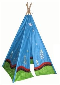 Way to take advantage of mother earth while leaving electronics in the house. This Eco TeePee is sure to be a hit! http://www.sensoryedge.com/eco-teepee-playhouse.html