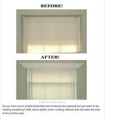 Make boring blinds pop