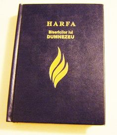 Romanian Christian Hymnal for Churches / 978 Hymns and Songs / HARFA Bisericilor lui Dumnezeu / Romania Vestitorul Evangheliei