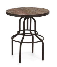 PEAK BAR TABLE  $430  (elmwood)  @ puremodern.com