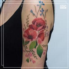 Best tattoos and artists from around the world. 🌷🌹🌺🌸🌼🌻 #color #colour #flowers #floral #tattoo #tatuaż #flower #kwiaty #poland #polska #kwiat #watercolor #tattooed #tattoo #floraltattoo #botanicaltattoo #flowertattoo #inkedwomen #tatuaż #polishflowers #polishtattooartist #wildflowers #colortattoo #delicatetattoo #bodyart #girlyink Poppies Tattoo, Watercolor Tattoo, Polish Tattoos, Delicate Tattoo, Tattoo Portfolio, Botanical Tattoo, Amazing Flowers, Flower Tattoos, Body Art Tattoos