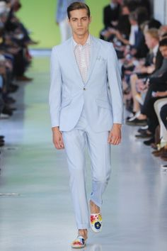 Fresh Looks: The Richard James Spring Summer 2014 Menswear Collection. More: http://attireclub.org/2013/10/31/fresh-looks-richard-james-spring-summer-2014-menswear-collection/ #menswear #style #mensfashion #elegance