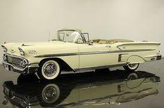 Chevrolet : Impala Convertible 2-door 1958 Chevrol - http://www.legendaryfinds.com/chevrolet-impala-convertible-2-door-1958-chevrol-2/