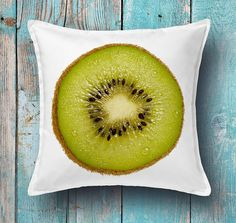 Kiwi cushion cover  decorative pillow cover throw pillow