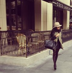 Winter skirt + hat