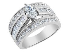 Diamond Marquise Engagement Ring 2.0 Carat (ctw) in 14K White Gold   IM DROOOOOOOLING..LOL