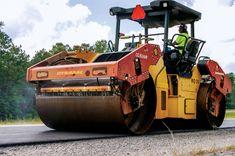 Afbeeldingsresultaat voor asphalt highway compaction