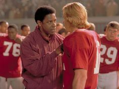 One of my favorite football movies, Remember the Titans The Best Films, Great Movies, Remember The Titans Movie, Football Movies, In And Out Movie, Movies Worth Watching, Denzel Washington, Celebrity Gallery, Lin Manuel Miranda