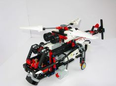 Chopp3r - a Lego Mindstorms EV3 helicopter