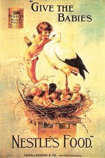 Nestle's Baby Food Vintage Advertisements, Vintage Ads, Nestle Chocolate, Illustrations Vintage, Baby Food Recipes, Breastfeeding, Marketing And Advertising, Switzerland, The Past