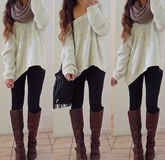 My favorite kind of outfit, comfortable and cute :)