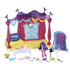 My+Little+Pony+Equestria+Girls+Minis+Canterlot+High+Dance+Playset+with+Twilight+Sparkle+Doll+$10.58+{reg.+$29.99}