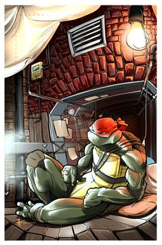Raph - Downtime by RuncimanConcepts.deviantart.com on @deviantART