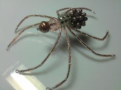 Christmas Spider  Pink & Tan by goosecrossingfarm on Etsy, $24.00