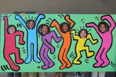 Keith Haring Photo Board Maclay School http://2soulsisters.blogspot.com/2016/04/celebration-of-artswhat-great-day.html http://2soulsisters.blogspot.com/2016/04/celebration-of-artswhat-great-day.html