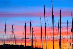 #sunset #tv2 #kristiansand #visitsørlandet #color #nikonphotography #sail #sailboat #sailboats #kristiansand #kristiansandavis by simonleoeriksson