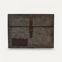 #leather and #felt #case