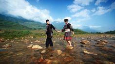 North Vietnam landscape