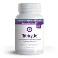 Nitricycle blends synergistic botanicals with the amino acid L-Arginine which is an essential precursor of nitric oxide which helps maintain healthy blood vessel tone thus making it popular for athletes and exercise enthusiasts. There is some evidence blood types B and AB may benefit more from Nitricycle although it is good for all types.