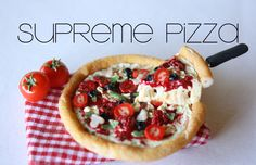 Miniature floating supreme pizza made from polymer clay. -Toni Ellison