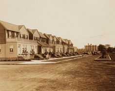 Marine Park Brooklyn in 1925 -- take a look at all those porches and balconies!