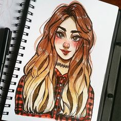 Uff another one today. :'v Tutorial of this drawing. Spanish- http://aminoapps.com/p/dl5bf English- http://aminoapps.com/p/s4epu #anime #watercolors #watercolors #drawing #doodle #sketch #sketchbook #artsharingpage #animearttr