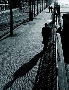 Václav Chochola :: Embankment, Prague, 1943
