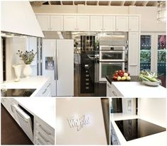 so pretty! >>>Whirlpool White Ice Collection in 2012 House Beautiful's Kitchen of the Year