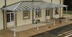 Specialists in the manufacture and installation of bespoke high quality traditional style glass verandas. Manufactured in Britain.