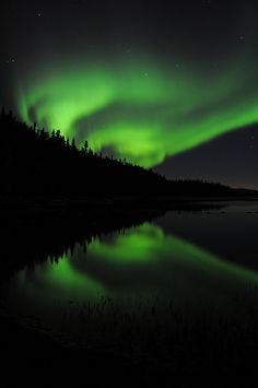 Aurora Over Quartz Lake (by alaskansurveyor)