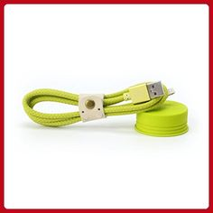 MX IPHONE CABLE-MACARON GREEN - Little daily helpers (*Amazon Partner-Link)